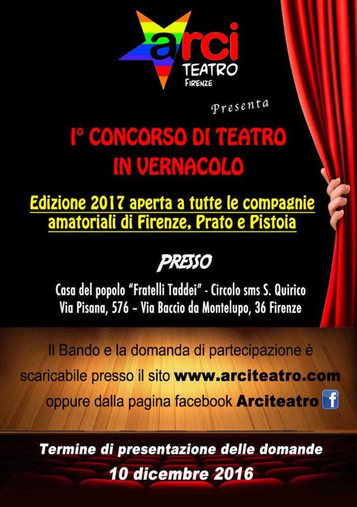 Bando di Concorso di Teatro_Edizione 2017